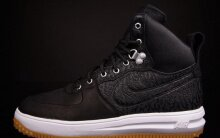 Nike Lunar Force 1 High Sneakerboot - Black Elephant/Gum